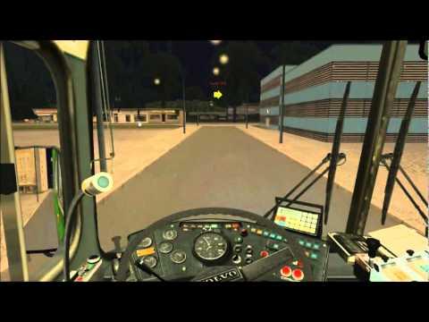 OMSI - The Bus Simulator Gameplay