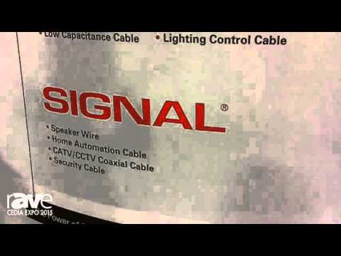 CEDIA 2015: Southward Shows Brands Tappen and Signal for Low-Volatage Cabling