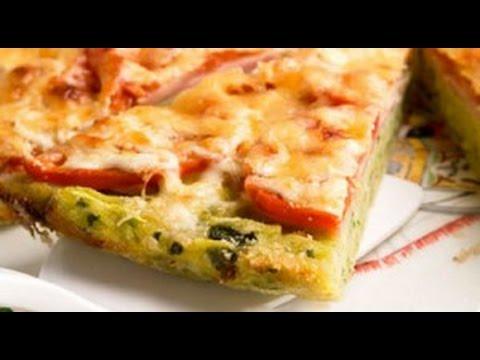 Рецепт вкусной кабачковой пиццы с колбаской! ЗДЕСЬ!