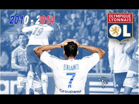 JIMMY BRIAND ○ OLYMPIQUE LYONNAIS ○ 2010 - 2014 [HD]