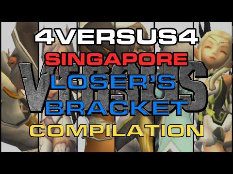 (SG) VERSUS 4v4 PVP Tournament - Loser's Bracket Matches Compilation - Dragon Nest
