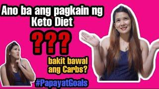 Keto Food / Paano Pumayat ng Mabilis  (Mga Pagkaing pwedeng kainin ng Keto Diet)