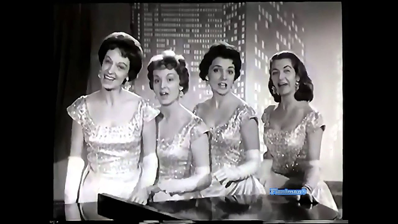 The chordettes lollipop video amp audio restored youtube