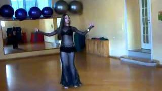 Belly dance by Azza Akdeb.flv