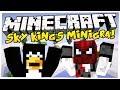 Minecraft: WYMIOTUJĄCY BLOW! SkyKings /w Pingwin i Blow