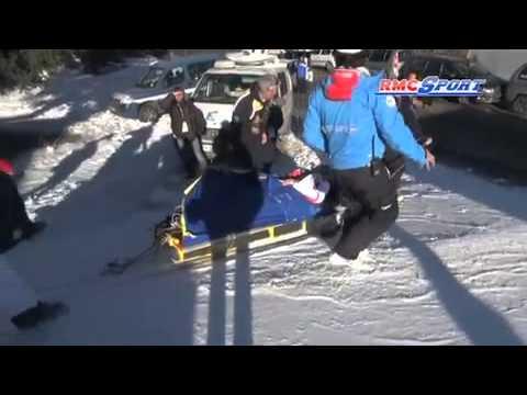 Courchevel : Tessa Worley évacué après sa chute - 17/12