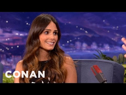 Jordana Brewster Has No Problem Getting Undressed To Act - CONAN on TBS
