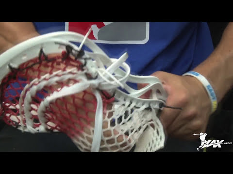 East Coast Dyes Stringing Videos | Warrior Revo 3 | Lax.com Stringing Tutorial
