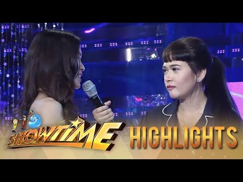 """It's Showtime Miss Q & A: """"Ate Girl"""" distances herself from Bela"""