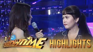 "It's Showtime Miss Q & A: ""Ate Girl"" distances herself from Bela"