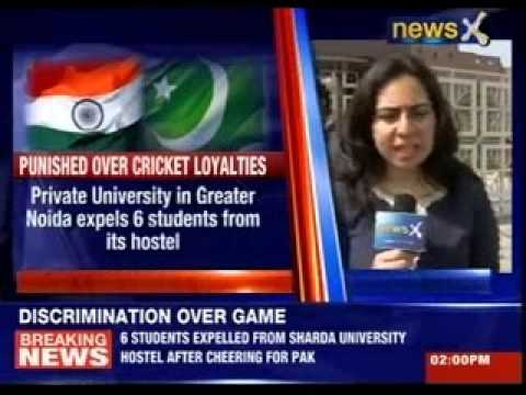 Six Students Expelled For Cheering Pakistan At Sharda University video