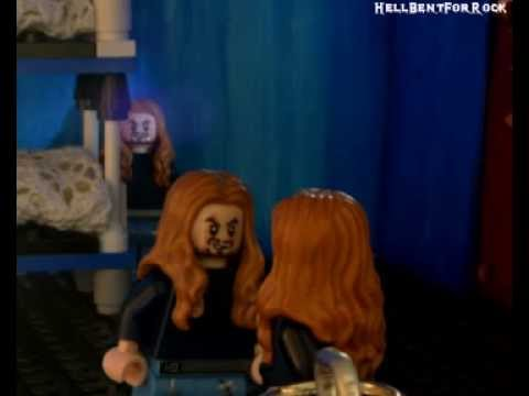 Megadeth - Lego Sweating Bullets (Videoclip)