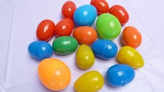 20 trứng bất ngờ mới nhất 2015 đồ chơi mới lạ với chị (Bí Đỏ)