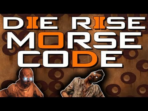 Die Rise: Hidden Message! Morse Code Circles - New Map/Storyline?