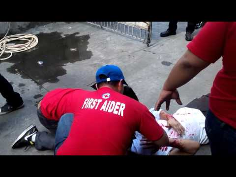 Philippine Red Cross Basic First Aid Training Exercise