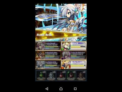 Brave Frontier RPG(Europe) Trial 004 easy Cardes kill