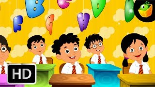 ABC Song - Alphabet Song - English Nursery Rhymes - Cartoon/Animated Rhymes For Kids