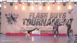 Finał Breakdance Solo powyżej 15lat na Flash Boys Tournament 2016