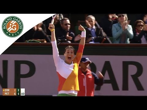 A. Petkovic v. S. Errani 2014 French Open Women's QF Highlights
