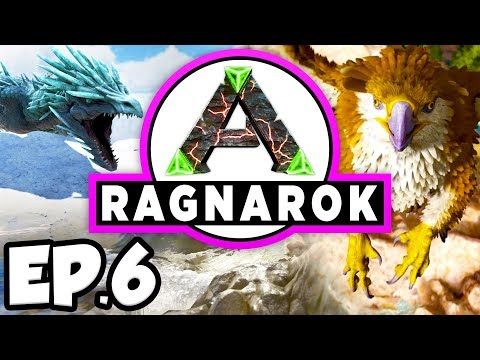 ARK: Ragnarok Ep.6 - THERIZINOSAURUS DINOSAURS TAME ATTEMPT!!! (Modded Dinosaurs Gameplay)