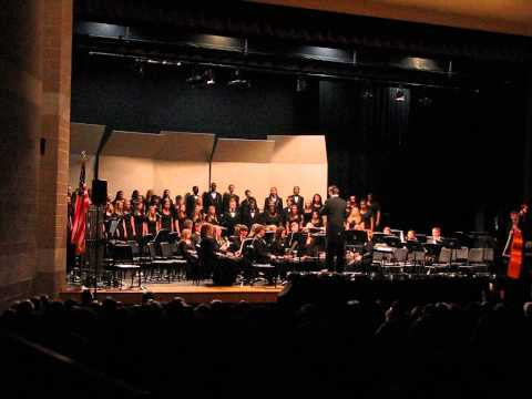 "Cedar Ridge High School, Choir ensemble : ""Oh Danny Boy"""