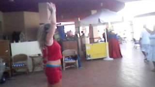 belly dance lessons by animation team @ sharm holiday resort 9/2007 ( sharm el-sheikh )