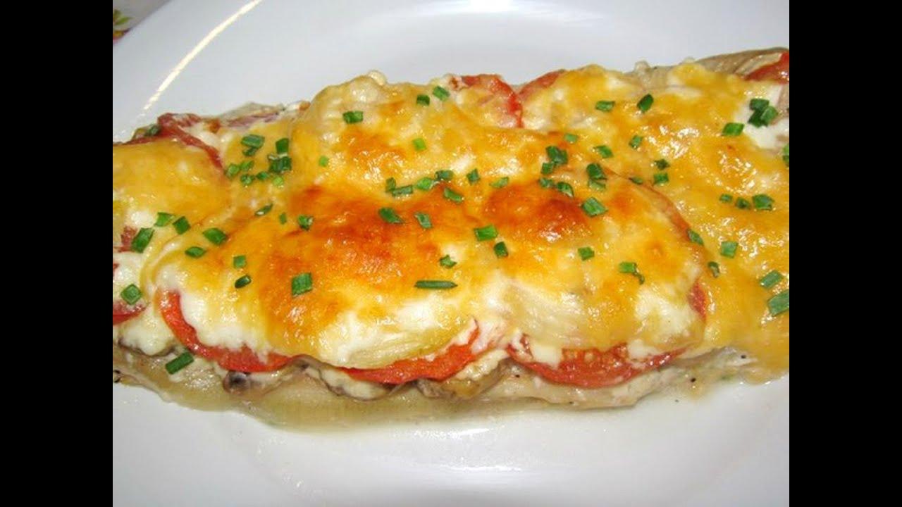 Рыба с омлетом в духовке рецепт