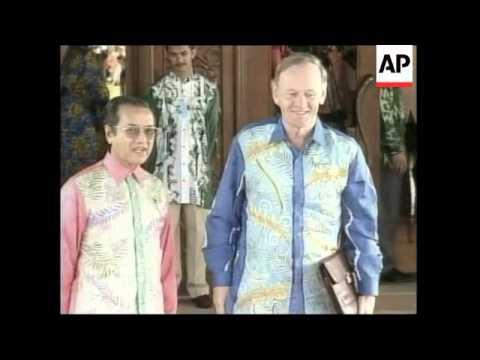 MALAYSIA: APEC ECONOMIC SUMMIT: MAHATHIR STATEMENT
