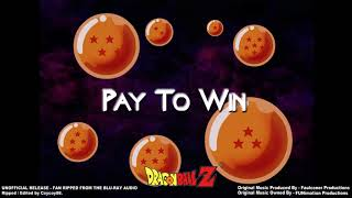 Dragonball Z - Episode 226 - Pay To Win - (Part 1) - [Faulconer Instrumental]