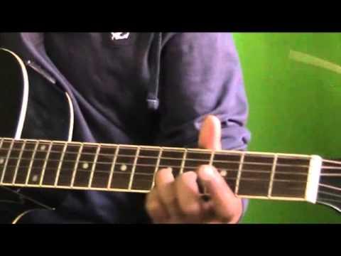 Kabhi jo badal barse guitar chords strumming lesson