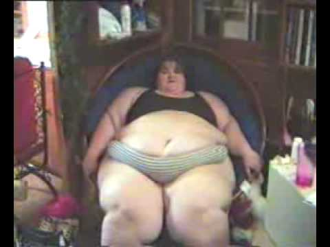 Fat Woman - Being Disgusting