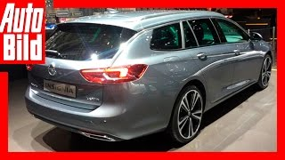 Opel Insignia Sports Tourer (Genf 2017) - Erste Sitzprobe /Review