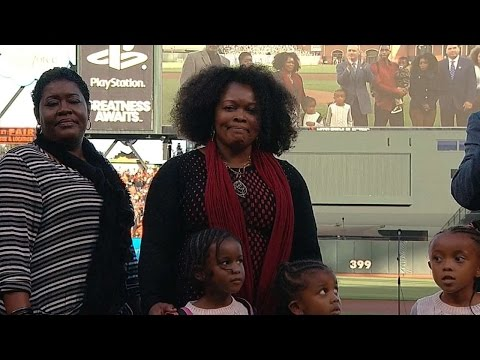 WS2014 Gm3: Major League Baseball honors Tony Gwynn