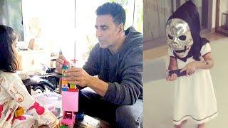 Akshay Kumar Playing With CUTE Daughter Nitara
