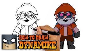 How to Draw Dynamike   Brawl Stars   Awesome Step-by-Step Tutorial