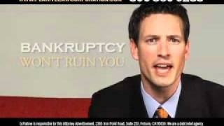 Bankruptcy TV Commercial Local Advertising