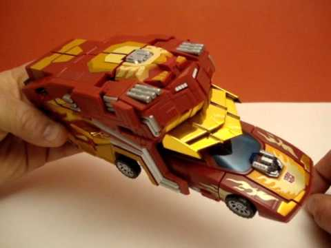 PROTECTOR ARMOR BY FANSPROJECT - TRANSFORMERS HOT ROD UPGRADE ACCESSORY TOY REVIEW