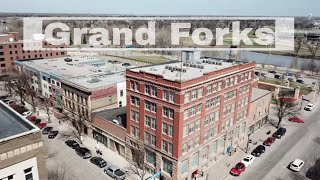 Drone Grand Forks, North Dakota & East Grand Forks, Minnesota