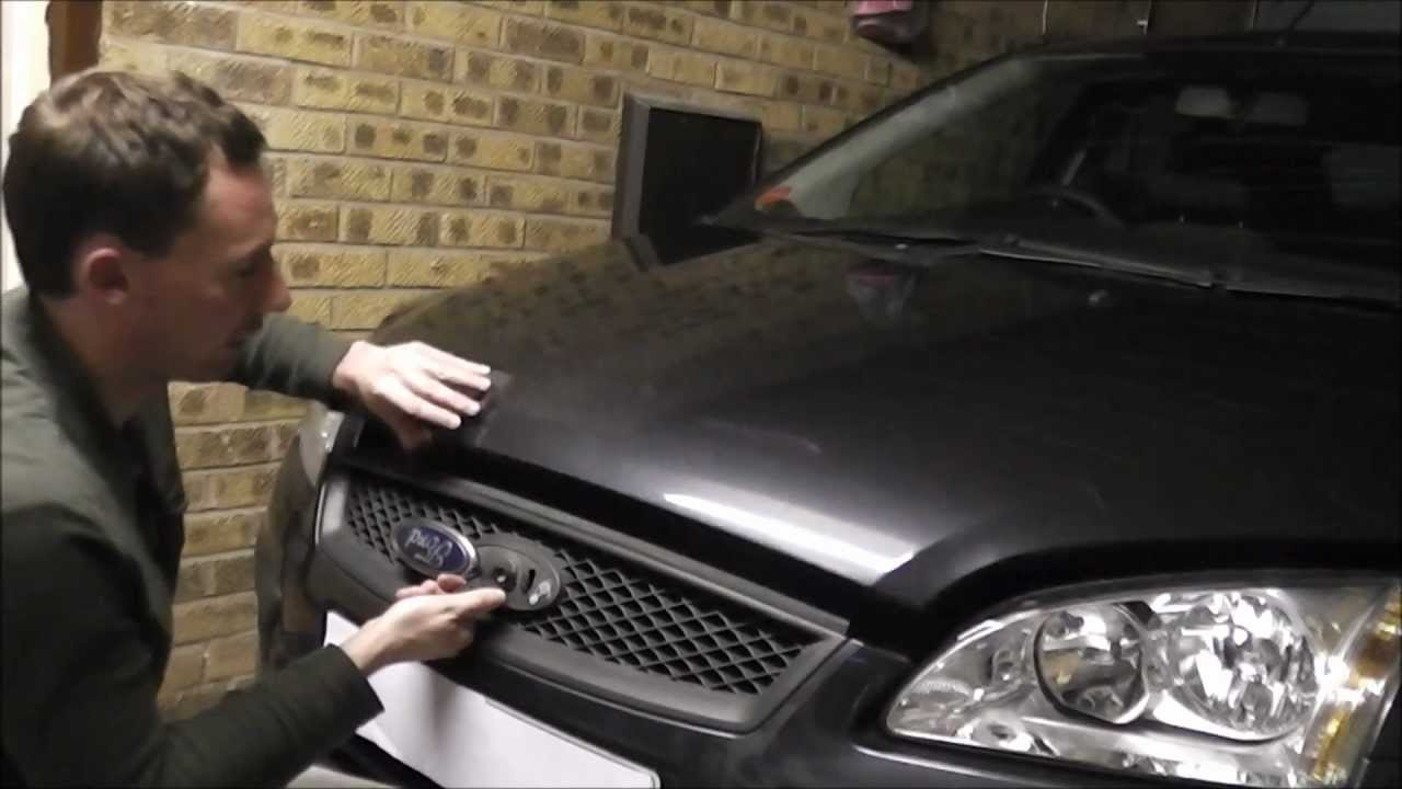 Ford Focus How To Open The Hood Bonnet Youtube