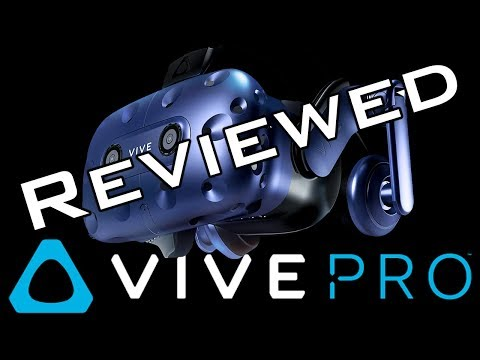 Vive Pro Review: Read Text Like A Boss (One with more money than sense)