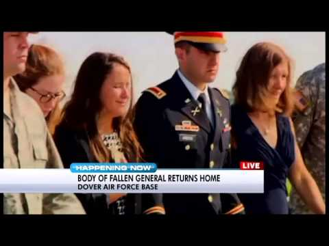 Maj. Gen. Harold Greene's body arrives at Dover Air Force Base