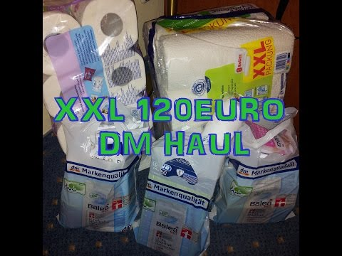 Xxxl 120€ Dm Haul Dezember 2014 video