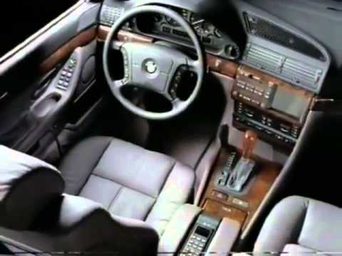 BMW 7 Series (E38) Promotional video 1995