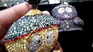 Mr Chris Da Jeweler Custom Lab Diamond Cartman South Park Charm