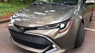 2019 Toyota Corolla Hatchback XSE Best Detailed Walkaround