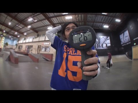 New Balance Numeric - Who Has The Fastest Kickflip?