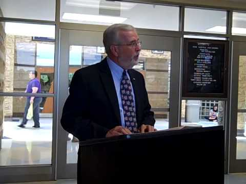 Knox Central High School SAR Dedication Ceremony June 6, 2014