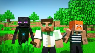 Monster School: Ambush! (minecraft animation)