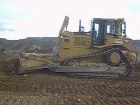 Caterpillar D7R Series 2 with angle dozer