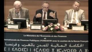 Colloque international des finances publiques Rabat les 11-12 Septembre 2015 - Partie 4 -